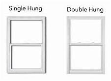 single or double hung windows image