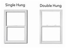 single or double hung windows image